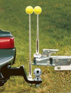 VEHICLE & TRAILER HITCH ALIGNMENT SYSTEM