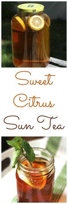 Healthy Salad Recipes This Sweet Citrus Su Food & Drink Healthy Snacks Nutrition Cocktail Recipes This Sweet Citrus Sun Tea is a fun and refreshing way to cool off when the weather gets warm! Summer Drinks, Fun Drinks, Healthy Drinks, Healthy Snacks, Beverages, Fresco, Southern Sweet Tea, Sun Tea, Tea Recipes