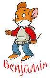Benjamin Stilton -  from the Geronimo Stilton books by  Elisabetta Dami.  image:  Benjamin 1