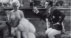 Marilyn Monroe and Tony Curtis from The Silver Screen Affair