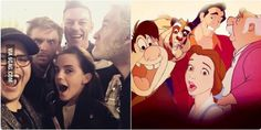 omg this is AMAZING, the disneydiehard in my cant handle the fanboying!