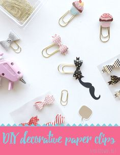 Diy Decorative Paper Clips - 10 Easy Paper DIYs to Soothe Your Crafting Needs