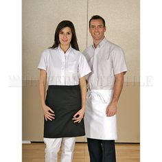 Perfect for wait staffs, servers and other front-of-the-house personnel, these server aprons tie at the waist and allow for a wide range of motion. Our stylish collection includes 3 pocket server aprons, custom waist aprons, knee-length aprons and more. Waist Apron, Ghost Adventures, Chef Apron, Business Video, Celebs, Discount Codes, Aprons, Stylish, Chile