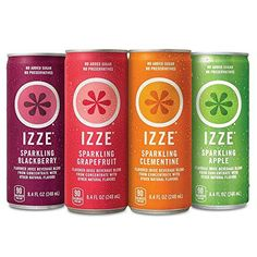 Izze Sparkling Juice 4 Flavor Variety Pack oz Cans 24 Count 2 Packs 24 Count Food Staples Butters Butter Food Food Foods Bars Food Foods Food Foods Food Foods Food Foods Bars Juice Drinks, Fruit Juice, Fun Drinks, Healthy Drinks, Alcoholic Beverages, Refreshing Drinks, Amazon Subscribe And Save, Sparkling Drinks, Juice Flavors