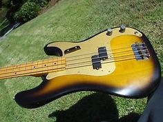 1982 Fender 57 1957 American Vintage Reissue P Bass AVRI Fullerton 8.1 lbs   eBay