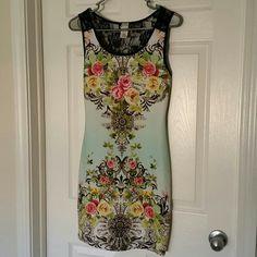 Selling this Floral Print Dress in my Poshmark closet! My username is: ccatalina. #shopmycloset #poshmark #fashion #shopping #style #forsale #Carolina #Dresses & Skirts