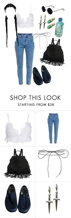 """""""prozac angel"""" by angelspit ❤ liked on Polyvore featuring Isabel Marant, Vetements, Lilou, Vans, Tina Tang, vans, drugs, Fiji, vetements and prozac"""