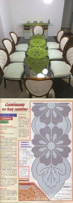 Длинная салфетка | Вязание | Постила