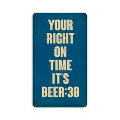 Beer 30 Sign