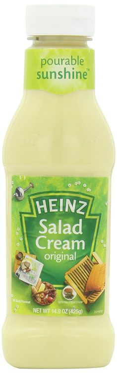 Heinz Salad Cream (Dressing) Original, 14.9-Ounce Squeeze Bottle (Pack of 6) * Continue to the product at the image link.