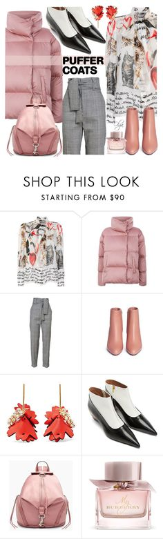 """""""Work Outfit"""" by olga1402 ❤ liked on Polyvore featuring Dolce&Gabbana, Weekend Max Mara, Marni, Rebecca Minkoff, Burberry and puffercoats"""