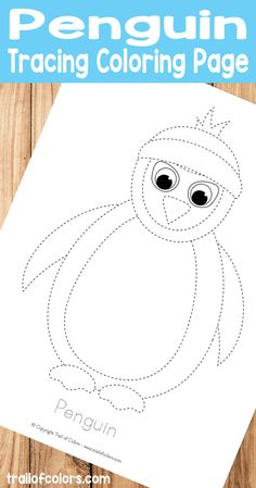 We just love tracing coloring pages, they are great for pre-writing practice and fun! This penguin tracing coloring page is  [Continue Reading]