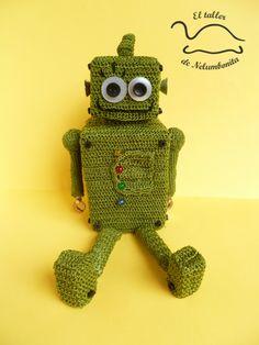 Robot_amigurumi