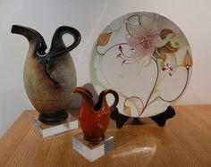 Depression Medication Names Product Porcelain Ceramics, Ceramic Pottery, Depression Treatment Centers, Depression Help, Small One, Art Nouveau, Decorative Plates, Vase, Antiques