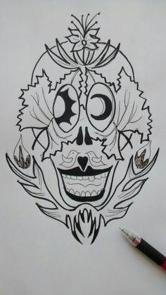 Nature skull.