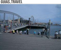 La #RamblaDeMar en el #PortVell de #Barcelona. http://www.viajarabarcelona.org/?page=portvellbarceloneta.php