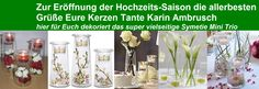 viele weitere Dekovorschläge auf der PartyLite Dekoplattform zu finden Partylite, Mini, Glass Vase, Home Decor, Candles, Decorating, Homemade Home Decor, Decoration Home, Interior Decorating