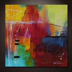 Abstract Art by Gino Savarino    ....Check this out:  http://artcaffeine.imobileappsys.com