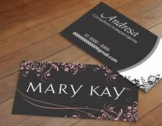 """Check out new work on my @Behance portfolio: """"Cartão de Visita Mary Kay"""" http://on.be.net/1N96oQk"""