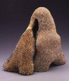 » Pencil Sculpture: Jennifer Maestre makes these amazing sculptures from cut up pencils.