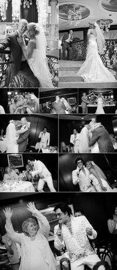 Great Las Vegas wedding collage