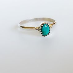 Image of Small Turquoise Navajo Ring [NV27]