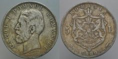 Istoria Leului Romania, Coins, Personalized Items, Coining, Rooms