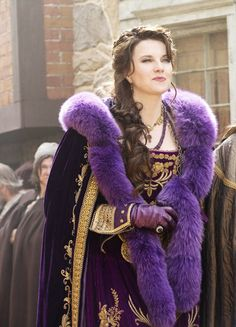 Lucy Lawless in 'Salem' (2014). x