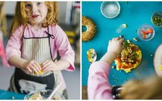 Ages 7-12 is the sweet spot for getting kids into cooking according to Xanthe Clay.