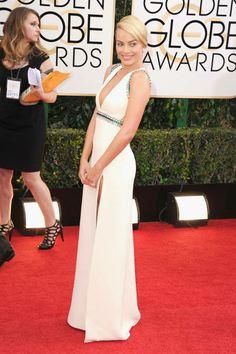 ELLE's 10 Best Dressed at the 2014 Golden Globes: Margot Robbie, Gucci