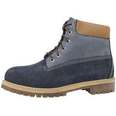 Timberland 6 Inch Premium Boots A14ZD blue - 40 - http://autowerkzeugekaufen.de/timberland/40-eu-timberland-6-inch-premium-wp-jr-boot-kinder