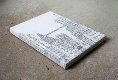 """Edición tuneada conmemorativa del primer año de """"La guía de las rutas inciertas"""" de Clara Nubiola + Bside Books."""