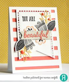 Hello! The Reverse Confetti  DT has teamed up today with Jennifer McGuire  to have a blog hop in honor of our fearless leader, Jen ...