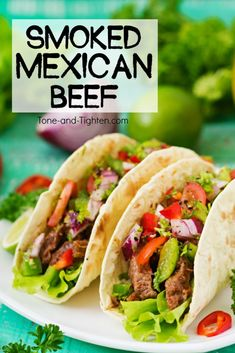 Healthy and delicious Mexican Beef recipe - perfect for tacos, burritos, enchiladas, and nachos! From Tone-and-Tighten.com