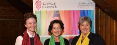 """""""Little Flower""""-Benefizveranstaltung der Rechtsanwaltskanzlei Dr. Ollinger mit Ingrid Amon, der Expertin für Stimm- und Sprechtechnik, ein voller Erfolg Amon, Fundraiser Event, Lawyer Office"""