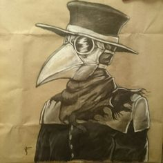 Plague doctor by Petr Haz