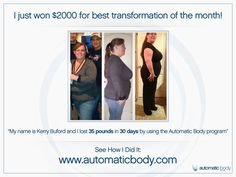 Kim Lyons Automatic Body program. People are getting results.