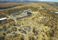 Cañada de la Virgen archaeological site in Guanajuato Mexico