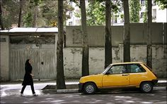 Yellow Renault
