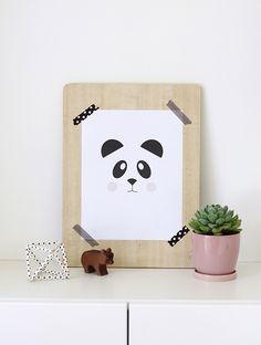 Affiches à imprimer pour la chambre de bébé - Part 1 | l'An Vert du Décor
