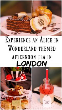 PIN FOR LATER: Experience an Alice in Wonderland themed afternoon tea at the Sanderson Hotel in London, England! This ADORABLE afternoon tea is called the 'Mad Hatters Tea' and features whimsical food Mad Hatters Afternoon Tea, Afternoon Tea London, Best Afternoon Tea, Mad Hatter Tea, Sanderson Hotel Afternoon Tea, London Food, London Eats, London Travel, London Shopping