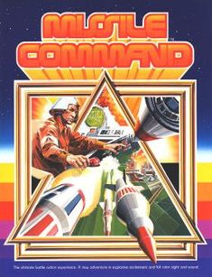 Missile Command.  Developed by Atari, Inc.  Came up in 1980.  Shoot 'em up!  I loved this game.  I was 11 when we came out.