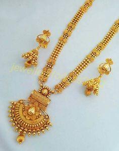 Jewelry Design Earrings, Gold Earrings Designs, Necklace Designs, Jewelry Sets, Gold Bangles Design, Gold Jewellery Design, Diamond Jewellery, Gold Mangalsutra Designs, Gold Jewelry Simple