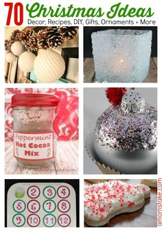 70 Best Christmas Ideas for the Holidays! via @amomstake