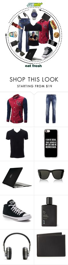 """""""023 Got that Sub on my Way"""" by berry2206 on Polyvore featuring BOSS Orange, Simplex Apparel, Casetify, Speck, Yves Saint Laurent, Converse, Master & Dynamic, The Men's Store, Citizen und men's fashion"""