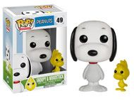 Snoopy and Woodstock Funko Pop Vinyl from the comic strip and TV show Peanuts by Charles M. Schulz #snoopy_and_woodstock #animation #funko #pop_vinyl #popinabox