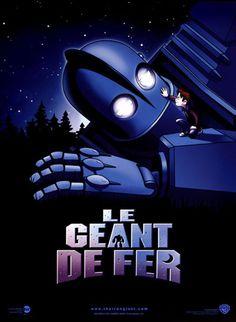 """Le Géant de fer est un film de Brad Bird avec Jennifer Aniston, Harry Connick Jr. Synopsis : Adapté du livre de Ted Huges, """"The Iron Man"""", qui avait inventé ce récit pour consoler ses deux jeunes enfants de la disparition précoce de"""