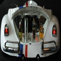 VW Beetle 'Herbie' bar designed to add vintage charm to your parties at home