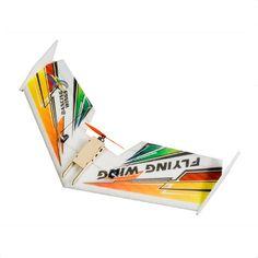 Dw afición mini arco iris epp 600mm alas fpv vuelo ala rc avión kit