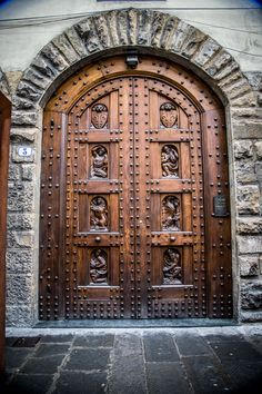 """""""Studded Door"""" by Maria Fossler on 500px - This is an incredible door located in Venice, Italy."""